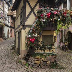 Eguisheim, pueblo amurallado con el «Pigeonnier» más famoso de Alsacia