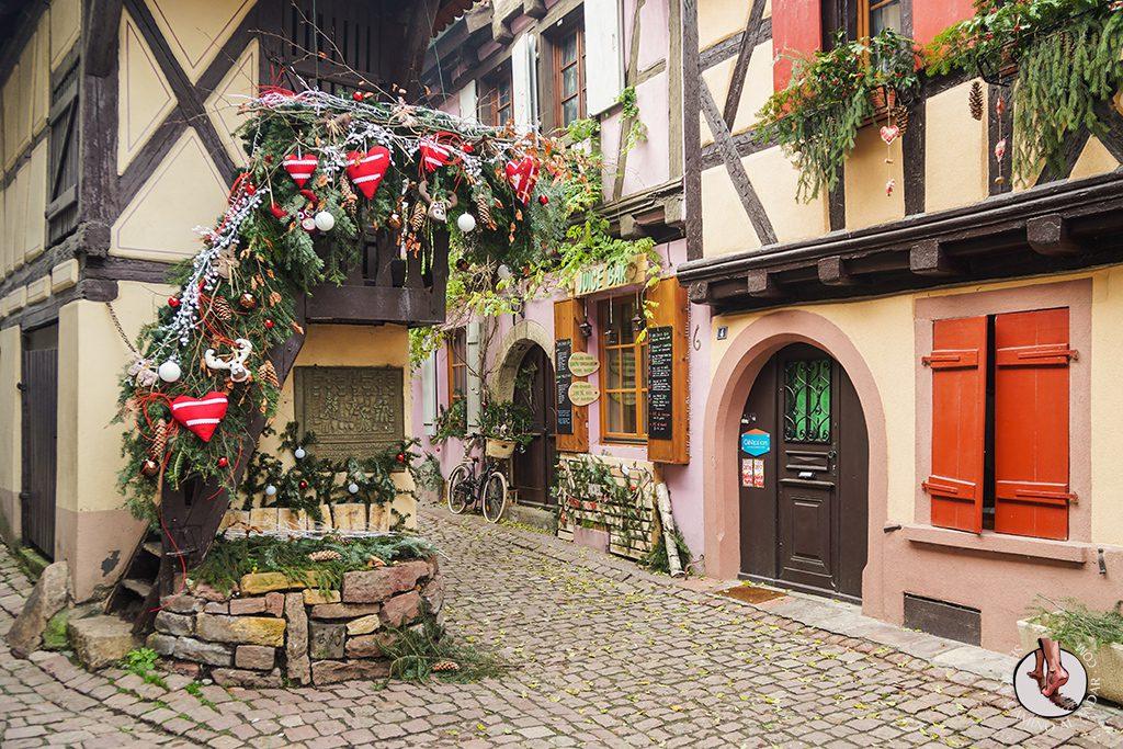 Eguisheim Pigeonnier navidad