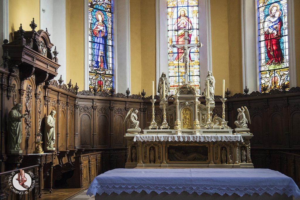 Eguisheim castillo altar