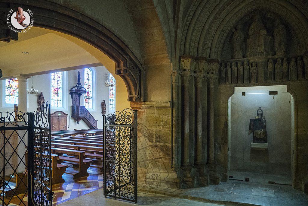 Eguisheim virgen abridera