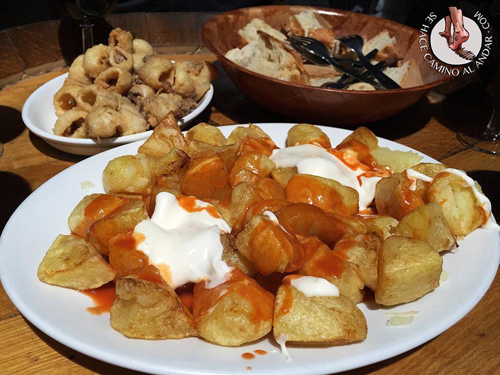 El Caballero Patatas mixtas Zamora chalo84
