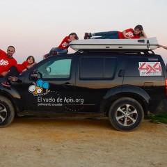Entrevista de vuelta a Sudamérica: El vuelo de Apis  (i)