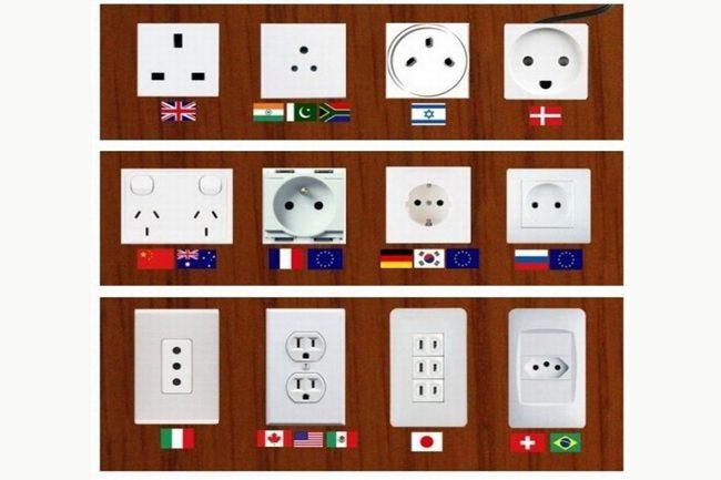 Enchufes y voltajes alrededor del mundo