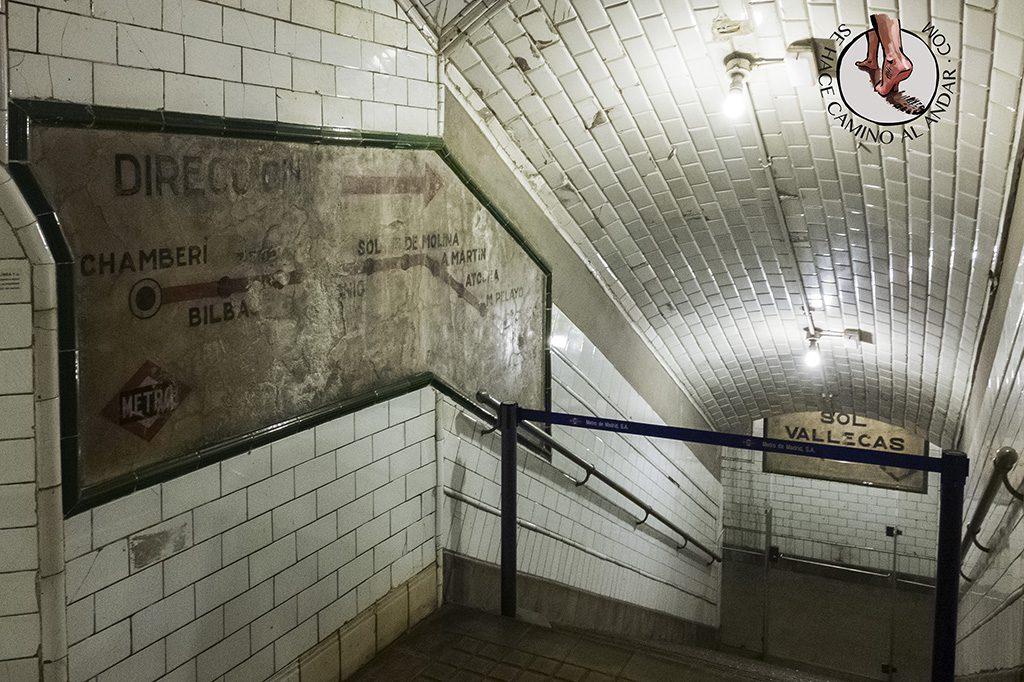 Escaleras Chamberí