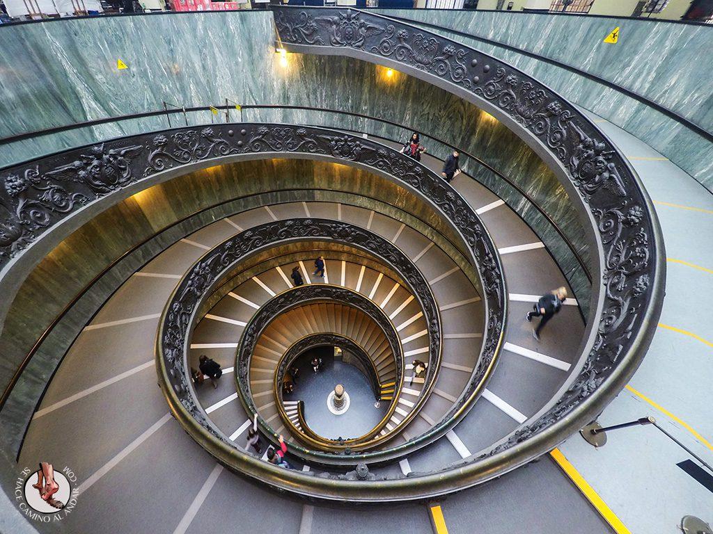 Escaleras Museo Vaticano