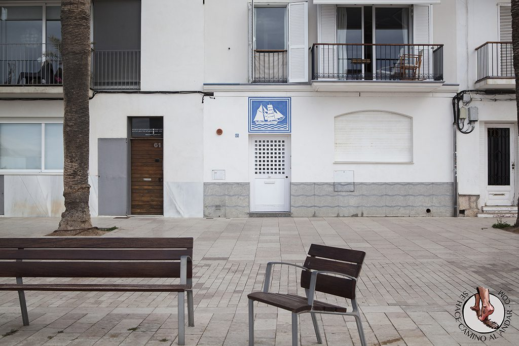 Escudo San Sebastian Sitges