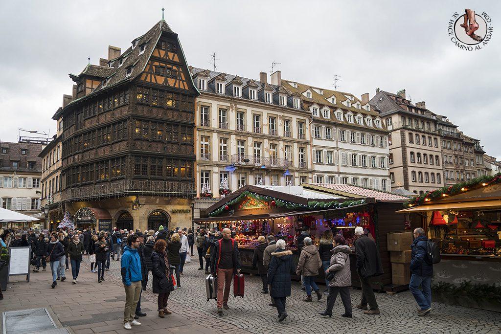 Estrasburgo Casa Kammerzell plaza