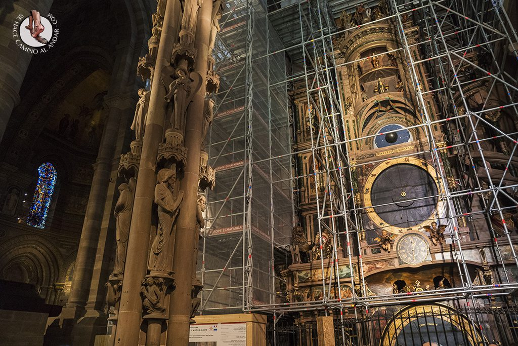 Estrasburgo Catedral Reloj astronomico