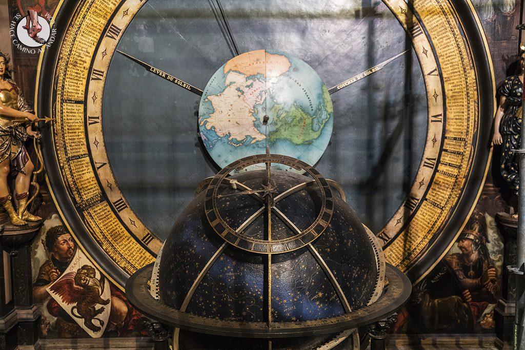 Estrasburgo Catedral reloj astronomico planeta