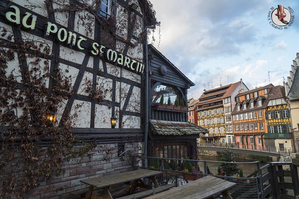 Estrasburgo Petite France au pont st martin