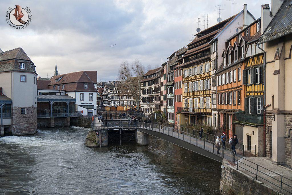Estrasburgo Petite France edificios