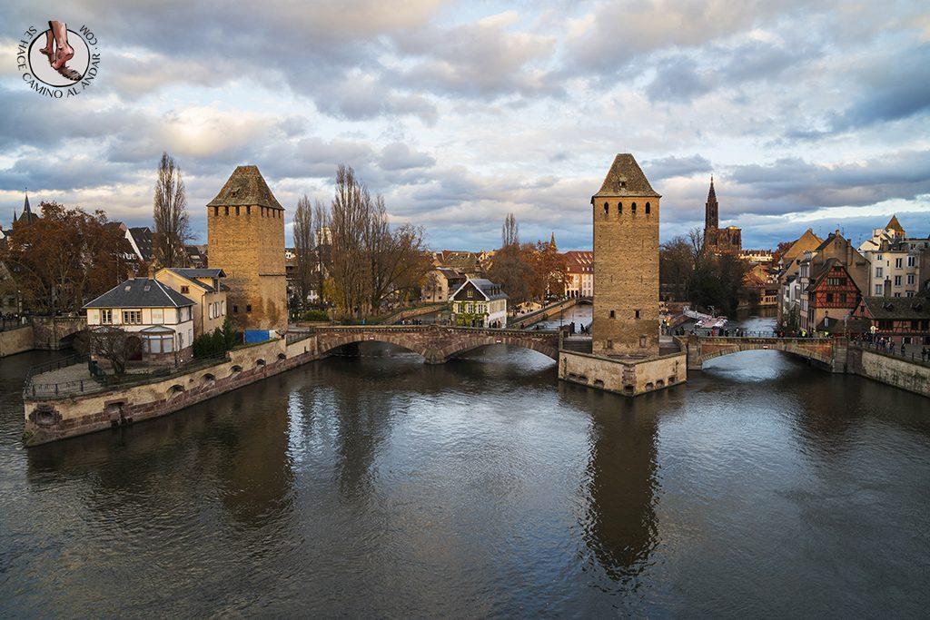 Estrasburgo Presa Vauban vistas terraza