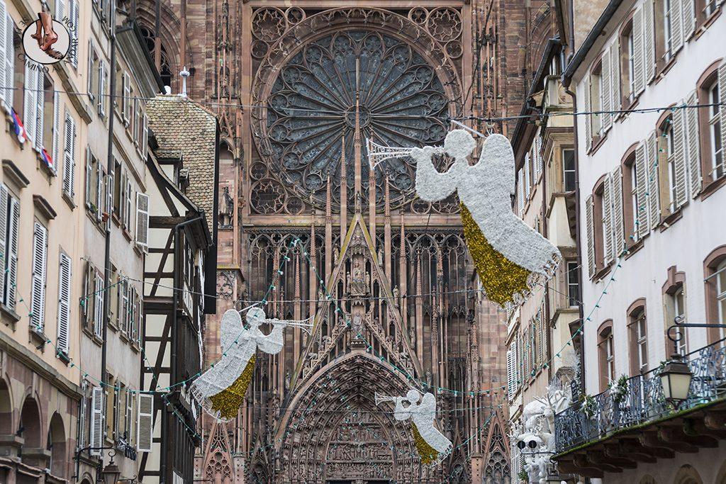 Estrasburgo Rue Merciere roseton