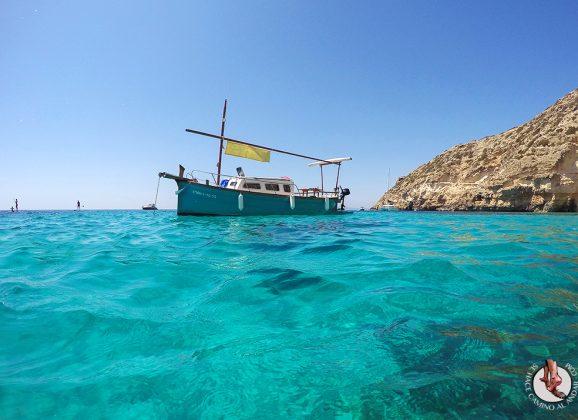 Excursión en llaüt por Formentera
