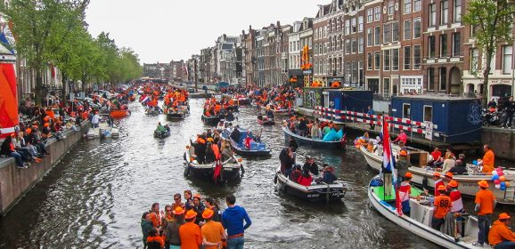 Yo asistí al último «Queen's day» de Amsterdam
