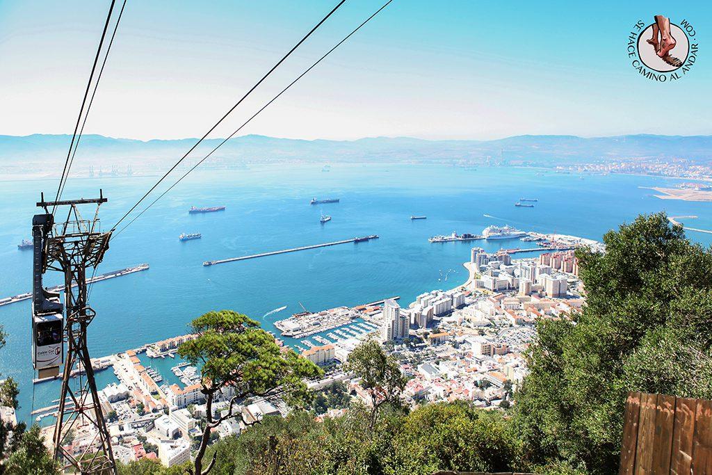 Funicular vistas panorámicas Gibraltar