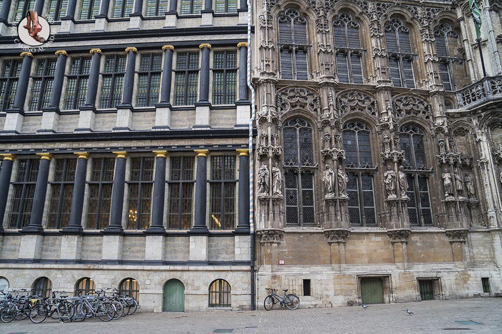 Gante ayuntamiento fachada