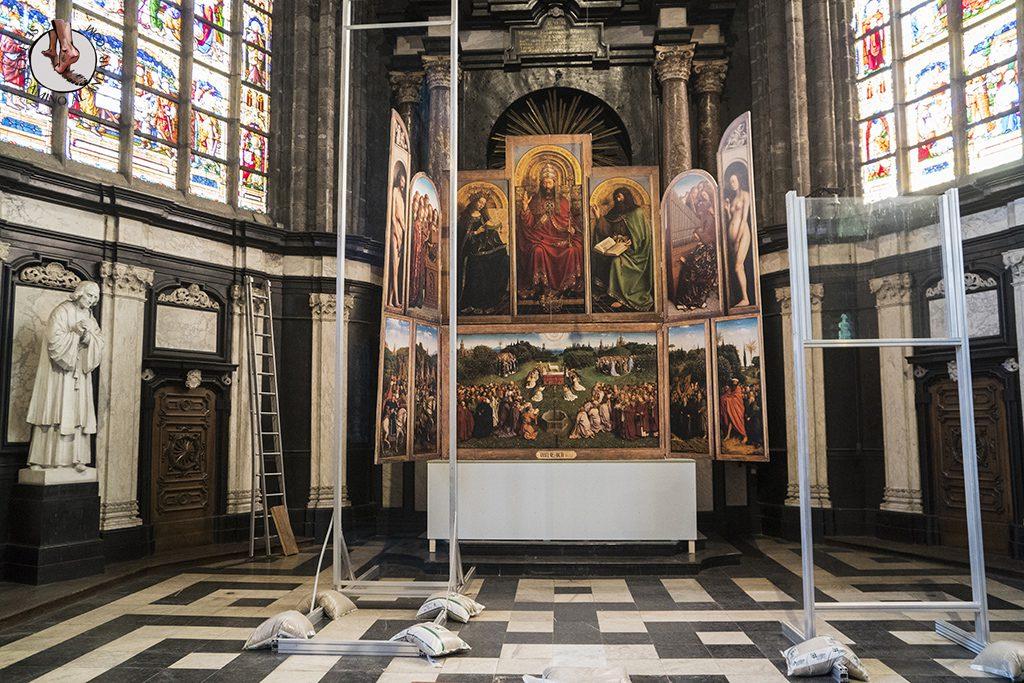Gante catedral san bavon adoracion cordero mistico