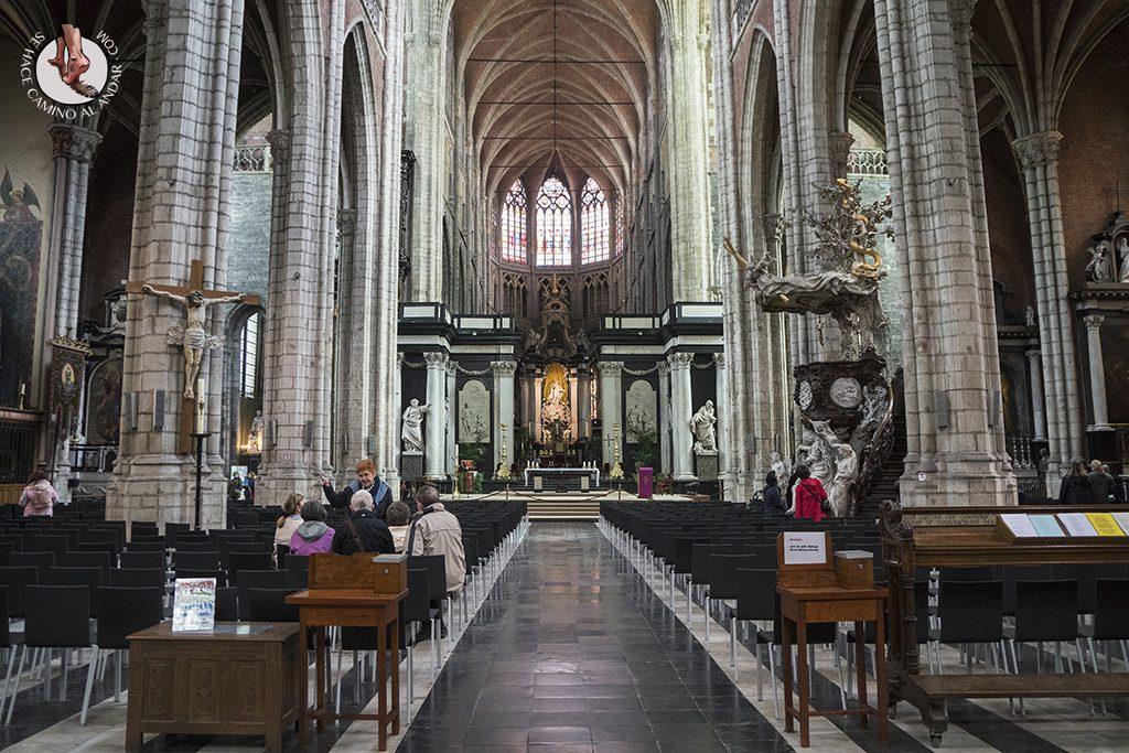 Gante catedral san bavon pulpito