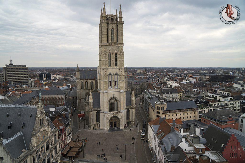 Gante torre Belfort mirador catedral san bavon
