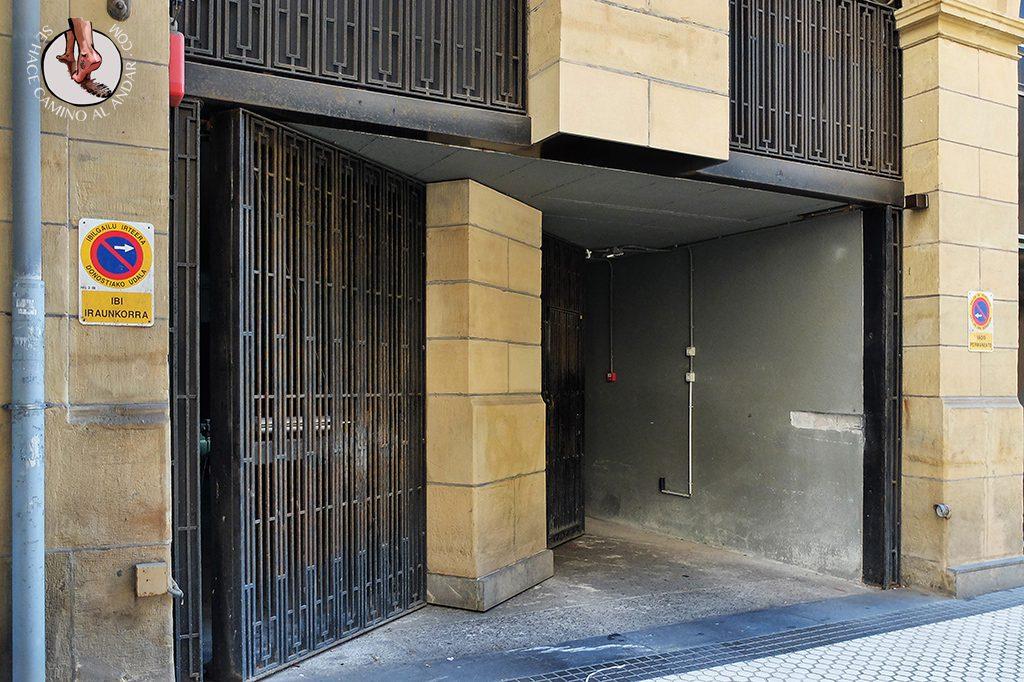 Garaje camuflaje Centro San Sebastian