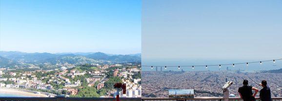 Igeldo y Tibidabo, dos parques de atracciones separados al nacer