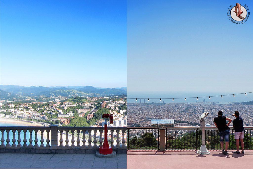 Igeldo y tibidabo dos parques de atracciones separados al for Parques de barcelona