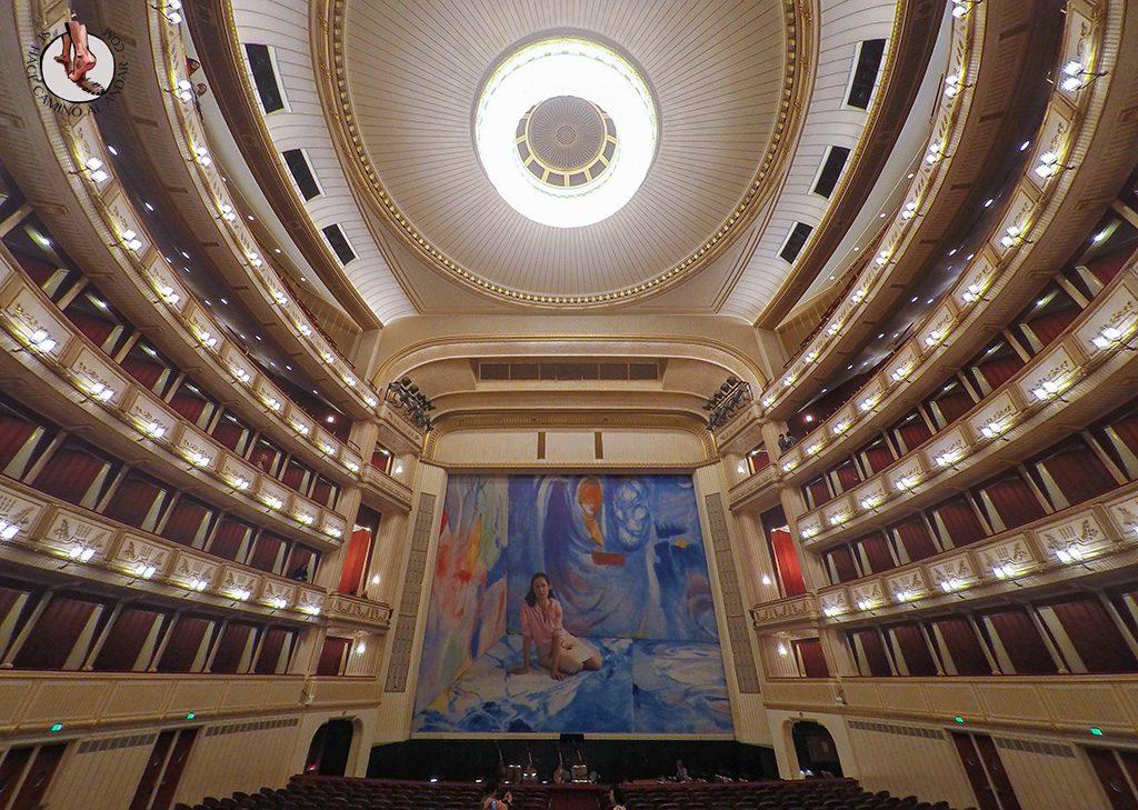 Interior Opera en Viena