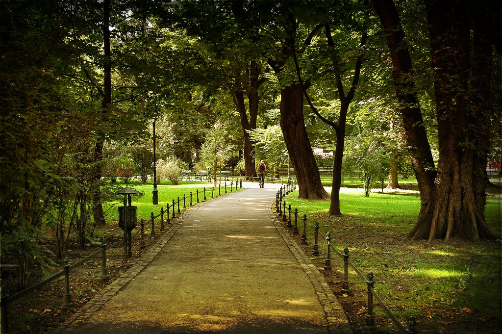Jardines Planty Cracovia