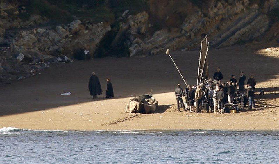 Juego de Tronos Barrika Tyrion-Lannister Sir Davos