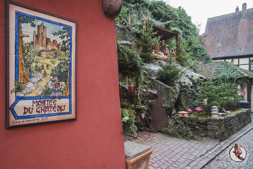 Kaysersberg subida castillo
