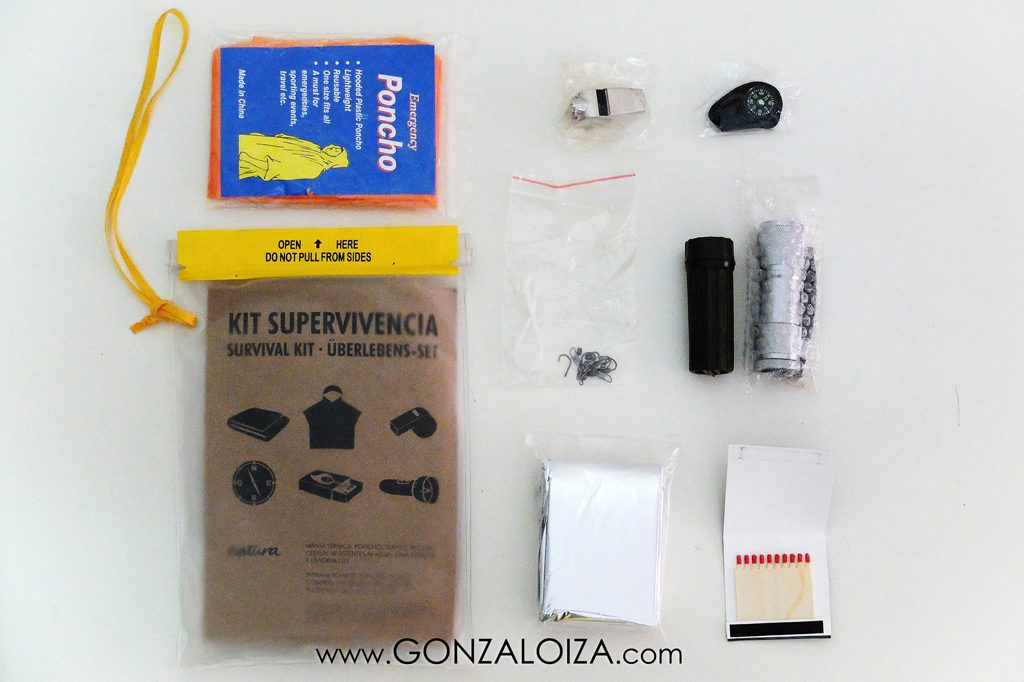 Kit de Supervivencia del viajero