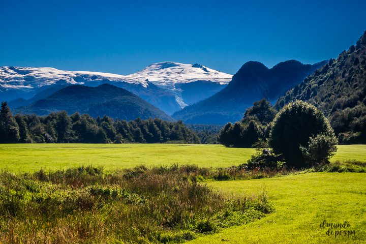 Landsacpe in chilean Patagonia