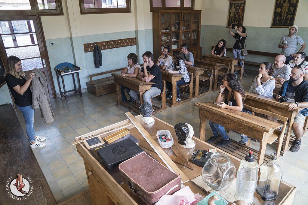 Legazpi escuela de 1950 clase