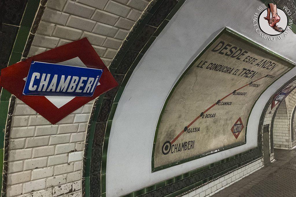 Linea metro Chamberí