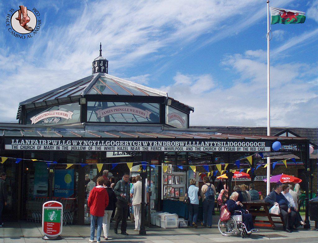 Llanfair, el pueblo con el nombre mas largo del mundo