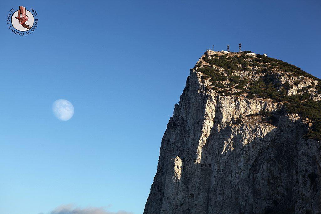Luna Peñón Gibraltar