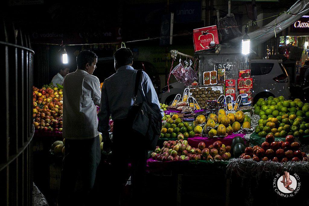 Mercado de frutas Calcuta