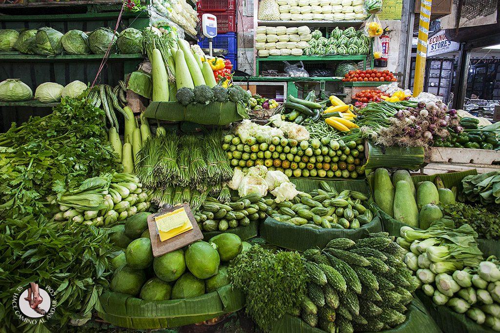 Mercado de vegetales Calcuta