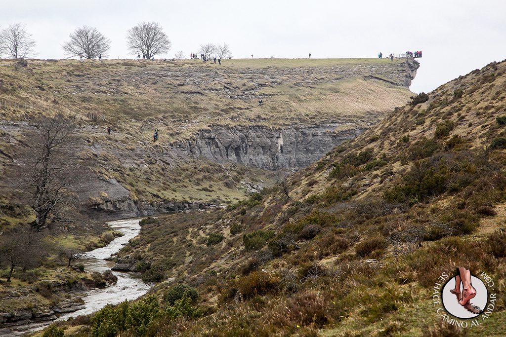 Mirador Salto Nervión río Delika