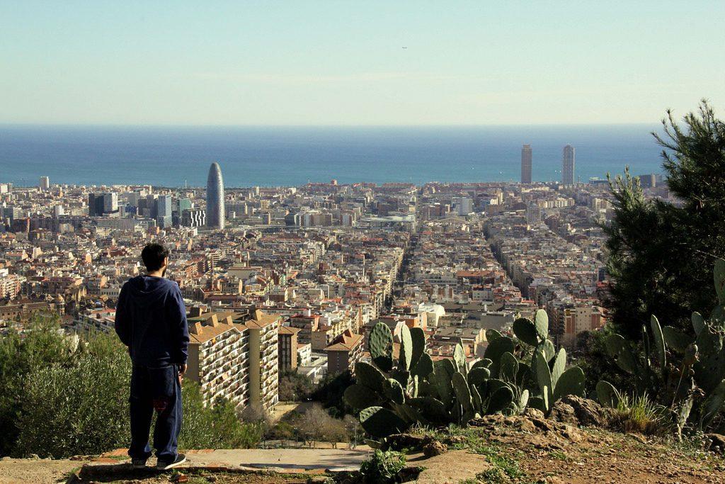 Miradores de Barcelona Parc del Guinardo