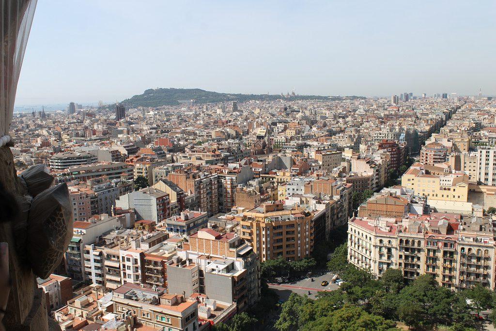 Miradores de Barcelona Sagrada Familia