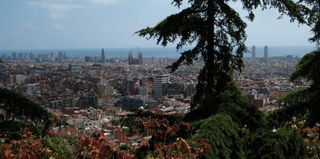 Miradores de Barcelona Turo del Putget
