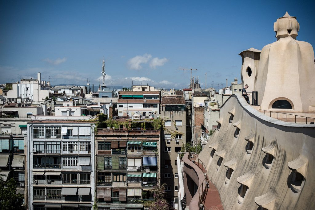 Miradores de Barcelona la Pedrera