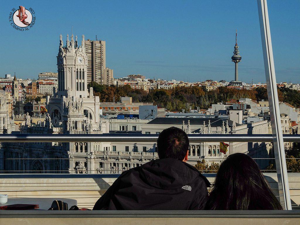 Miradores de Madrid Círculo de Bellas Artes