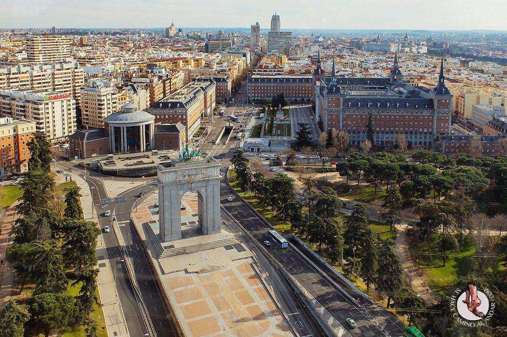 Miradores de Madrid Faro de Moncloa