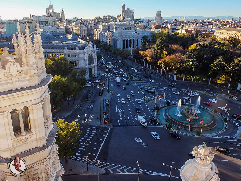 Miradores de Madrid Palacio de Cibeles