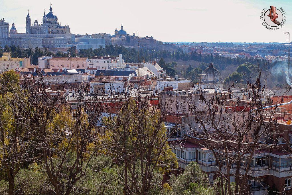 Miradores de Madrid Principe Pío Templo Deboh