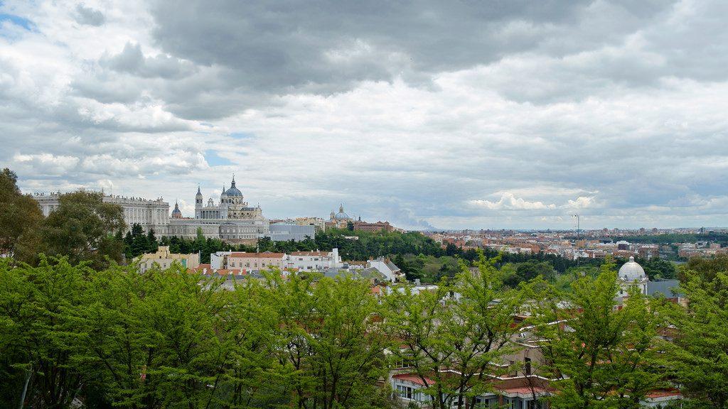 Miradores de Madrid - Catedral de la Almudena