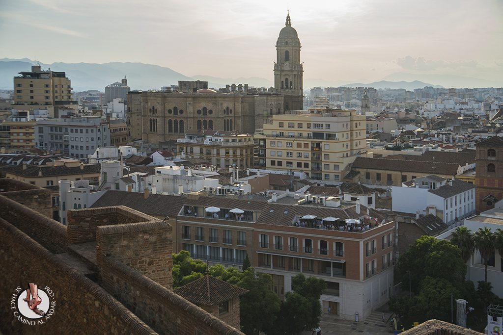 Miradores de Málaga Alcazaba Catedral Manquita
